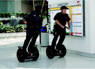 Patrol on Segway