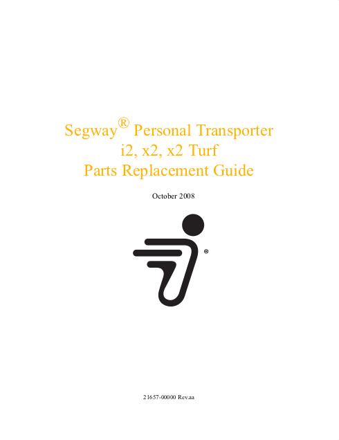 Gen 2 Service Manual Cover